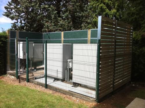 clôture anti bruit clim
