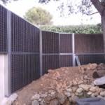 mur anti bruit sur 2 niveaux