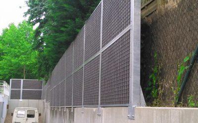 Installation d'une clôture anti bruit en ALSACE