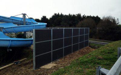 Clôture FERMISOL pour protéger la zone de loisirs d'un camping en Loire Atlantique (44)