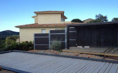 Réduire les nuisances sonores d'une nouvelle piscine près de Porto-Vecchio (CORSE)