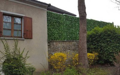 Une mur anti bruit surélevé en Région Parisienne (78)