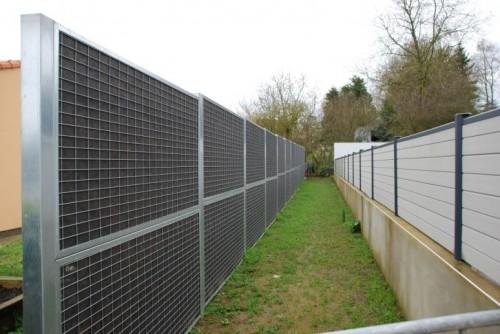 mur anti bruit cour ecole vendée 1