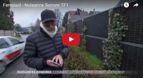 reportage mur anti bruit TF1