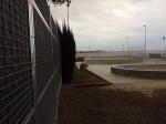 mur anti bruit skateparc