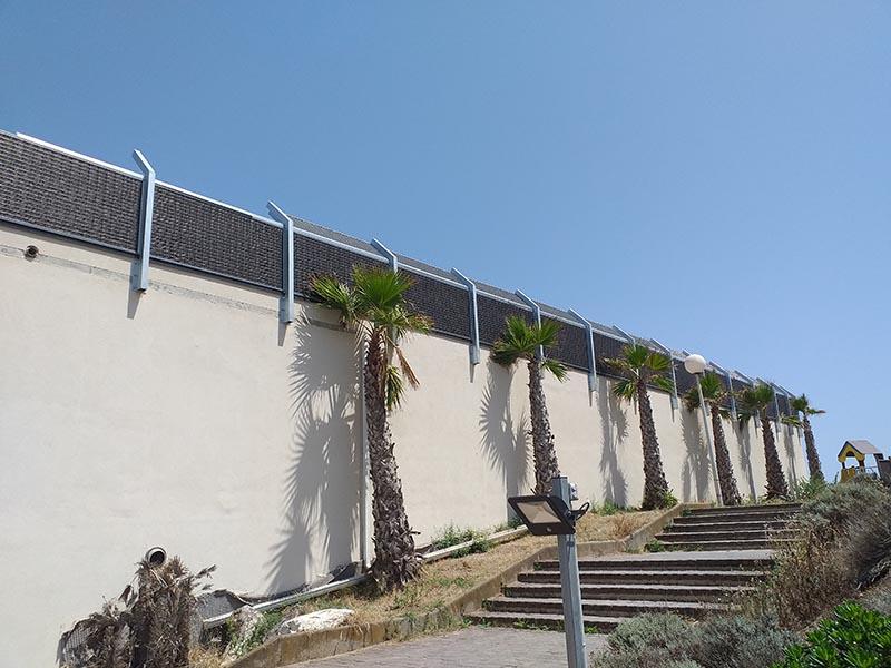Leader des clôtures anti bruit camping et centre de loisir