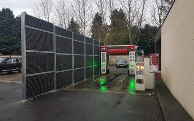 mise en conformité acoustique centre lavage auto